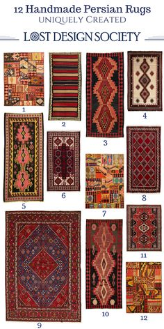 UNIQUE HANDMADE PERSIAN RUGS 1. $869 - Red Salmon Tribal Patchwork 2. $729 - Natural & Red Shiraz Persian 3. $529 - Red & Coral Azerbaijan Runner 4. $729 - Natural & Red Shiraz Persian 5. $599 -Coral Pink & Black Azerbaijan Runner 6. $364 - Red & Multi Balouchi Persian VII 7. $879 - Red Teal & Multi Persian Tribal Patchwork 8. $364 - Red & Multi Balouchi Persian II 9. $3,315 - Red & Multi Mehmeh Persian 10. $749 - Red & Multi Azerbaijan 11. $451 - Red Shiraz 12. $869 - Red Multi Patchwork