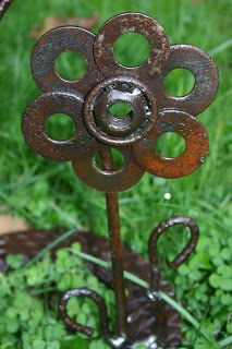 Kathi's Garden Art Rust-n-Stuff: It is begining to look like Welding weather