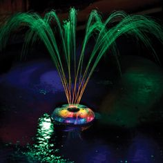 The underwater pool light show is. colorful light show to your pool with thisSwimming Pool Led Light Show Fountain. Color changing fountain and underwater lights;One hour auto shut-off. Swimming Pool Led Light Show Fountain, Features . Fountain Lights, Pool Fountain, Fountain Design, Pond Lights, Water Fountains, Swimming Pool Decorations, Living Pool, Underwater Lights, My Pool