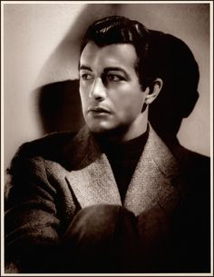 Robert Taylor by George Hurrell