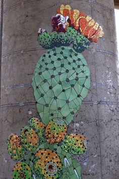 Increíble artículo sobre mosaicos en un museo de historia natural en Chile a través de mosaicartnow.com Killer pics