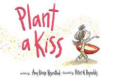 "In this sweet, simple and GLITTERY book by the sure-fire team of Rosenthal and Reynolds, Little Miss plants a kiss. She cares for it and waits, waits, waits. Finally, there is a sprout. Everyone comes to see, and Little Miss shares it all. But it's not really gone. ""...she learned...from one little kiss...endless bliss!"""