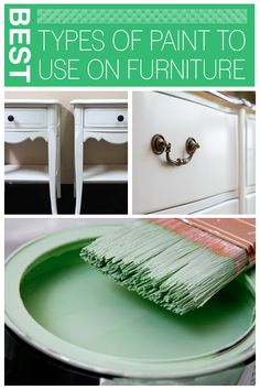 The Best Types of Paint To Use on Furniture