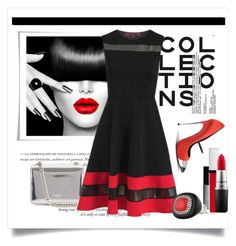 """""""The Collection"""" by conch-lady ❤ liked on Polyvore featuring Casadei, Rochas, JustFab, Givenchy and MAC Cosmetics"""