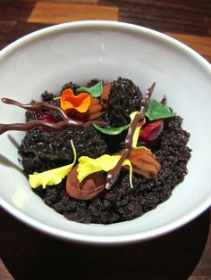 Curtis Stone's new Beverly Hills restaurant Maude's deconstructed black forest floor cake