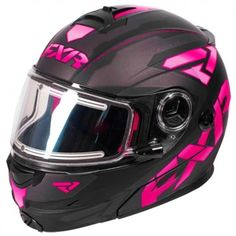 FXR Fuel Elite Modular Electric Womens Sled Snowboard Snowmobile Helmets