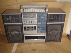 Pioneer CT-C7, I remember the boom box era of the 80's.  The bigger the better!