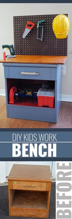 DIY Christmas Gifts for Kids - Homemade Christmas Presents for Children and Christmas Crafts for Kids | Toys,  Dress Up Clothes, Dolls and Fun Games |  Step by Step tutorials and instructions for cool gifts to make for boys and girls |  Kiddie Workbench |  http://diyjoy.com/diy-christmas-gifts-for-kids