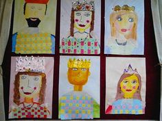 #queen #king #princess #prince #royalty #kids art #art ideas