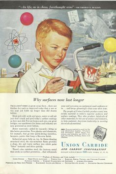 Chemistry of Paint / Union Carbide Original 1948 by VintageAdarama, $9.99