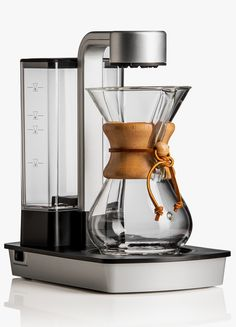 "http://www.idecz.com/category/Espresso-Machine/ Chemex ""Ottomatic"" Coffee Brewer. http://www.selectism.com/2014/12/04/chemex-ottomatic-coffee-brewer/"