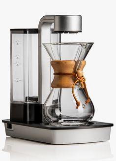 """Chemex """"Ottomatic"""" Coffee Brewer.  http://www.selectism.com/2014/12/04/chemex-ottomatic-coffee-brewer/"""