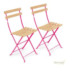 Fermob Bistro Natural Chair Pair. In love with these but so expensive!