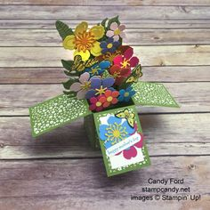 Floral Card in a Box