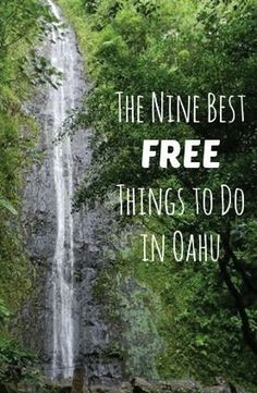 Traveling to the Hawaiian Islands? Check out our top nine tips for the best free things to do in Hawaii specifically Oahu! Hawaii Honeymoon, Hawaii Vacation, Hawaii Travel, Travel Usa, Travel Tips, Tropical Vacations, Mexico Travel, Spain Travel, Travel Packing