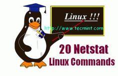 20 Netstat Linux Commands