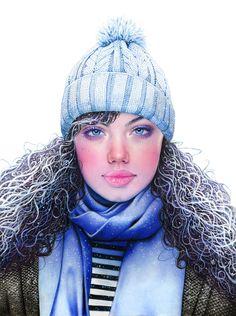 Super Detailed Color Pencil Drawings by Morgan Davidson
