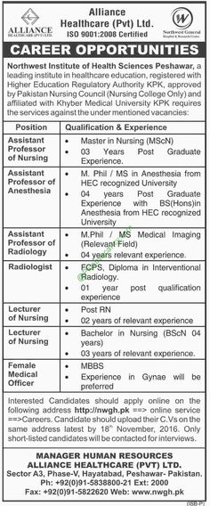 director josb in Punjab Food Authority Government Of Pakistan - radiologist job description