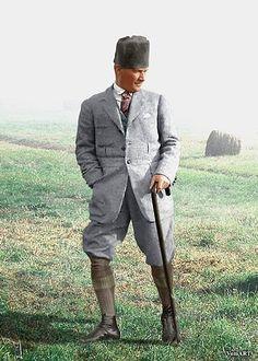 Atatürk'ün Dünyanın En Karizmatik ve Tarz Erkeklerinden Olduğunun 30 Kanıtı Jacket Style, Style Guides, Jackets, Men, Jacket, Cropped Jackets