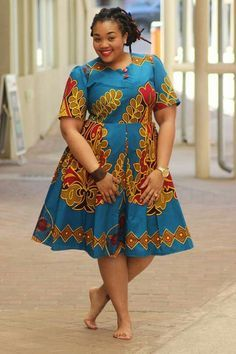 The complete pictures of latest ankara short gown styles of 2018 you've been searching for. These short ankara gown styles of 2018 are beautiful African Fashion Designers, African Fashion Ankara, Latest African Fashion Dresses, African Print Fashion, African Dresses Plus Size, Short African Dresses, African Print Dresses, African Prints, Shweshwe Dresses