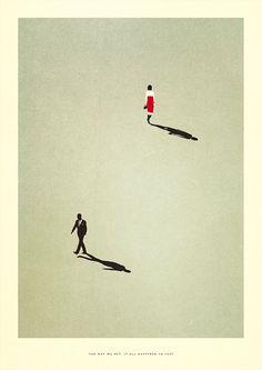 (1) minimalistic-symbolism-illustration-patrik-svensson-14   Illustration   Pinterest / Shadow / Illustration / Ideas / Inspiration
