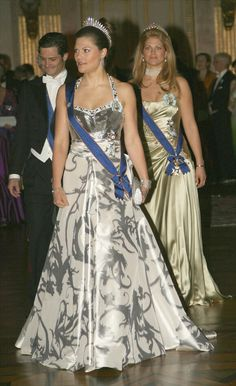 Crown Princess Victoria, and Princess Madeleine of Sweden