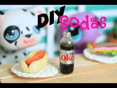 LPS DIY How to make miniature bottles of soda - YouTube