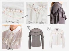 5bea8e71400f Jak szyć ubrania z naszywaną falbaną z prostokąta  Ponad 10 omówionych  przykładów DIY i tutoriali