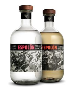 Tequila Espolón – Packaging para el día de los muertos