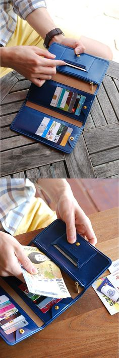 If you are always on the go, I have the perfect essential for you! The Leather Anti Skimming Wallet v3 is a gorgeously designed wallet equipped with 15 card pockets, a zipper pocket, money sleeve and a snap button to keep it all together. My favorite part is the pocket designed specifically for a transit card. Never fumble getting your transit card out again. Simply just touch the card reader, and you are good to go without hesitation!: