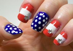 4th of July nail art for stiletto nails | ... art-awesome-crystal-stars-4th-of-july-nail-art-fourth-of-july-nail-art