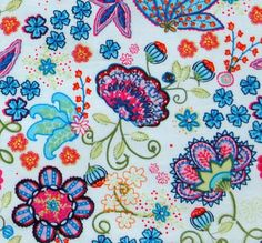 White European fabric, Oilily style. by fromhollandwithlove, via Flickr