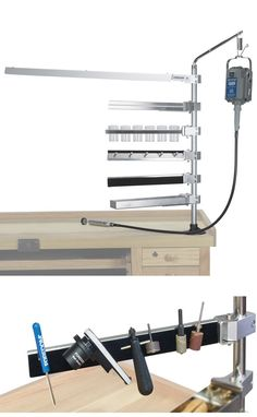 Mounted fluting guide with router psi woodworking lixga2 for Bench tool system