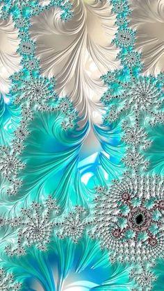 Fractal Design, Fractal Art, Fractal Images, Fractal Geometry, Sacred Geometry, Mobile Wallpaper, Wallpaper Backgrounds, Art Design, Illusions
