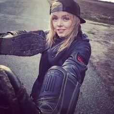Nuclear waste resistant! #Icon1000 #RockTheGear #EwaStunts #StuntGirl