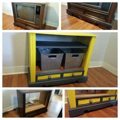 1000 images about tvs and consoles repurposed on for Floor model tv