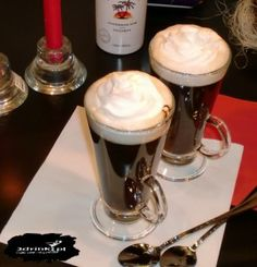 Karaibska kawa z rumem i malibu « 2DRINK.PL
