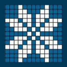 Dishcloth Knitting Patterns, Christmas Knitting Patterns, Quilt Block Patterns, Pattern Blocks, Cross Stitch Designs, Cross Stitch Patterns, Modele Pixel Art, Graph Crochet, Cross Stitch Geometric