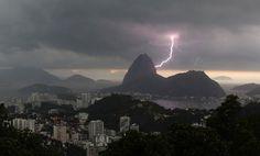 Fulmine a Rio de Janeiro