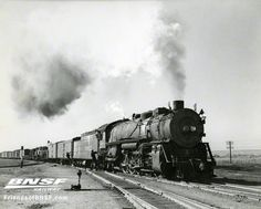 Delivered in 1919, ATSF 3802 is one of 140 Class 3800 Santa Fe locomotives built by Baldwin between 1919 and 1927.