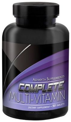 Advanta Supplements Complete Multi-Vitamin 90 tablets * Check this useful article by going to the link at the image.