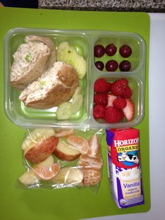 Healthy lunch & snack ideas for kids! Tuna pockets