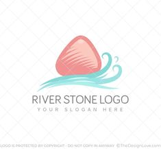 The logo can be used by jewellery shops, Spa's, and housing societies close to a water body. #LogoDesign #Logodesigner #logomaker #businessgrowth #startups #branding #Inspirational