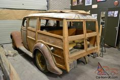 Ford Pilot Woodie project .