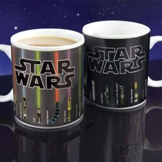 Taza Sable Laser #StarWars que reacciona al calor