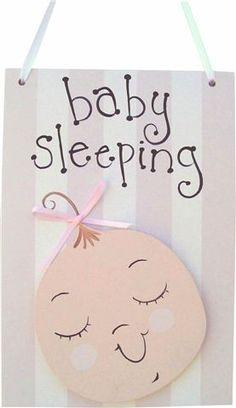 Baby Girl Door Hang