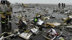 Cae avion comercial intentando aterrizaje aeropuerto de Rusia; mueren 62 personas