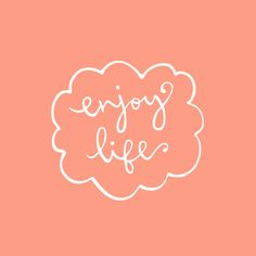 enjoy life art print by minna may