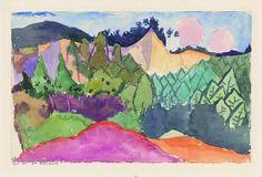 Paul Klee: Im Steinbruch / In the Quarry / Dans la carrière, 1913, 135. Zentrum Paul Klee, Bern