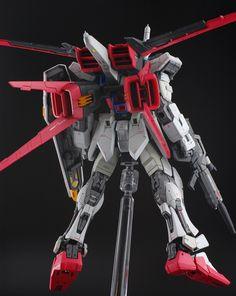 RG 1/144 GAT-X105 Strike Gundam + AQM/E-M1 I.W.S.P.. Modeled by matmat.